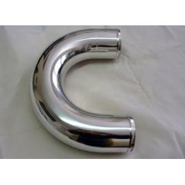 Coude 90° aluminium diamètre extérieur 51mm