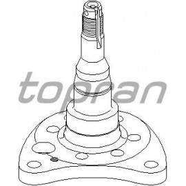 Fusée arrière droite pour disque avec ou sans ABS