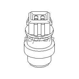 Sonde, capteur de température, liquide refroidissement Vr6