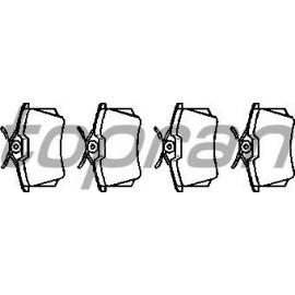 Plaquettes arrières VAG / PSA / REANULT