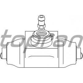 Cylindre de roue Volkswagen Golf 2 Golf 3 Passat 35i