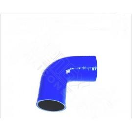 Manchon silicone couleur coude 90° 4 plis diamètre 57mm longueur 102mm