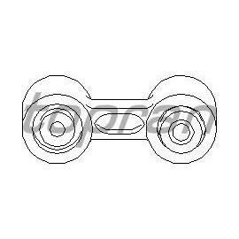 Stabilisateur train arrière BMW E34
