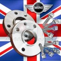 Cales + visserie Mini R53 phase1 4x100 56mm