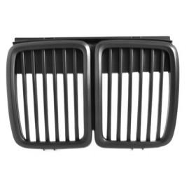Grille de calandre noir, haricot noir BMW E30