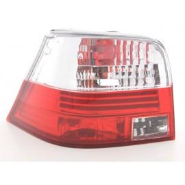 Feux arrière Golf 4 rouge / blanc