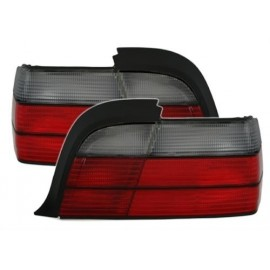 Feux arrière noir et rouge Bmw E36 coupé / cabriolet