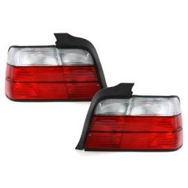 Feux arrière blanc et rouge Bmw E36 berline