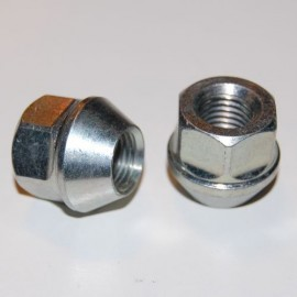 Lot de 4 ecrous ouvert 12x150 à tête conique L 24mm clé 17