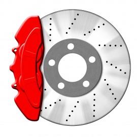 Peinture etrier de frein rouge