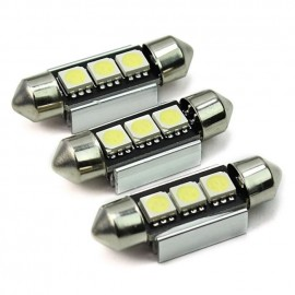Feux Navette 3 LED 5050 SMD 36mm