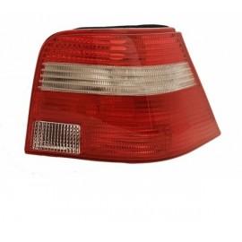 Feu arrière droit rouge / blanc Volkswagen Golf 4 berline