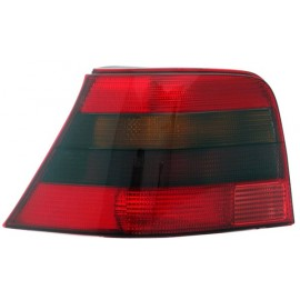 Feu arrière gauche rouge / blanc Volkswagen Golf 4 berline