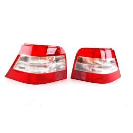 Feux arrière HELLA MagicColor VW Golf 4 Rouge / Blanc