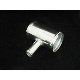 T de raccordement aluminium 50mm Dump valve 25mm