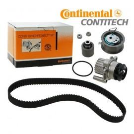 Pompe à eau + kit de courroie de distribution Contitech VAG 1.9L Tdi 90/105cv