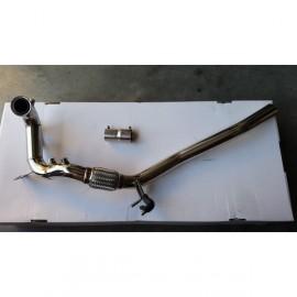 Downpipe decata inox Audi / Seat / Skoda / VW 2.0 TDi avec connexion 55mm