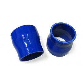 Manchon silicone droit couleur 4 plis réducteur diamètre 63-60mm longueur 76mm