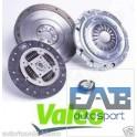 Kit embrayage + volant moteur Valeo Fiat 1.9l Jtd