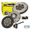 Kit embrayage Luk + volant moteur bimasse Audi A4 B7 A6 C6 Seat Exeo 2L Tdi 140