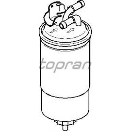Filtre à gazoil Golf 4 / A3 8L / LEON 1M