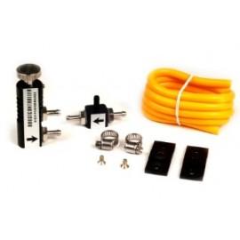 Kit robinet de pression de turbo pour montage habitacle couleur noir