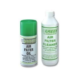 Kit nettoyant 500ml + lubrifiant Green 300ml