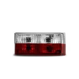 Feux arrière, VW Golf 1 74-80 + Cabriolet type 155, 79-93, rouge/blanc/cristal