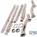 Downpipe inox Audi S4 B5 2,7l Bi-turbo