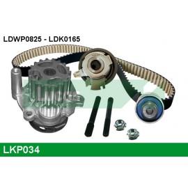 Pompe à eau + kit de courroie de distribution Lucas VAG 1.9L Tdi 90/105cv