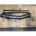 Downpipe inox Vw Golf 4 Gti + Audi A3 8L + TT 20vt 1.8l turbo