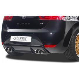 Diffuseur jupe spoiler arrière type Cupra pour Seat Leon 2 pour double sortie au centre