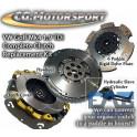 Kit embrayage renforcé CG Motorsport + volant moteur bimasse Sachs A3 8l Golf 4 Leon 1M TDi 130/150 Ibiza 6L TDi 130/160