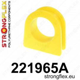 Silent bloc polyurethane pour crémaillère de direction A3 8L Leon 1M Golf 4 Bora