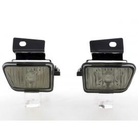 2 antibrouillards type cristal noir Volswagen Golf 2