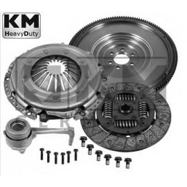 Kit embrayage + volant moteur + butée A3 Golf 4 Leon tdi 130 150
