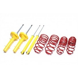 Kit amortisseurs ressorts courts -40mm Volkswagen Polo 86C