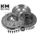 Kit embrayage + volant moteur Km Germany Audi A4 B6 Passat 1.9 tdi 130
